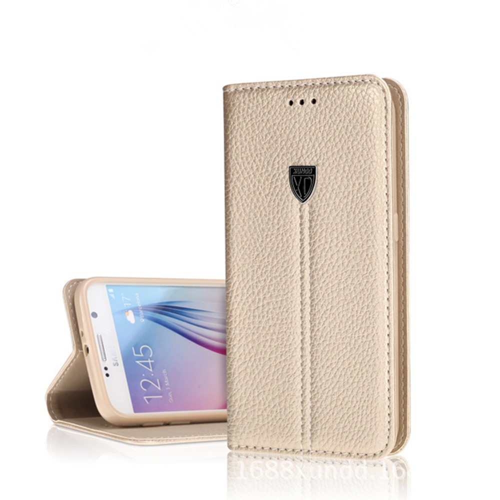 imágenes para Xundd caja del teléfono de Lujo Para Samsung Galaxy s7/s7 borde de La Vendimia cubierta Del caso Del Tirón de cuero para la galaxia caja del teléfono s7 envío de la gota