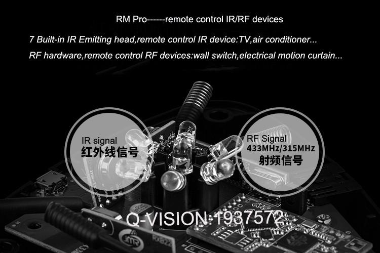 11-Broadlink RM2 RM PRO Universal Smart Wifi Remote IR RF + A1 E-Air Quality Detector Infrared Home Automation kit Sensor Smart App