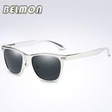 2017 Fashion Polarized Sunglasses Men Women Driver Brand Designer Sun Glasses For Male Driving AL-MG Frame UV400 Oculos RS060