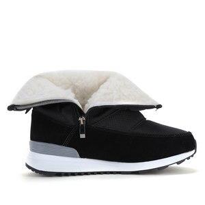Image 4 - GOGC Warm 방수 Boots 대 한 Women Warm 눈 Boots 2018 Fashion Winter Boots Women 와 털 봉 제 큰 Size 겨울 신발 Women
