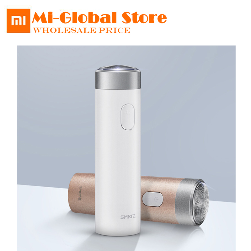 Originale Xiaomi Smate turbina degli uomini rasoio elettrico ricaricabile barba coltello mini miglio ecologico rasoio comodo pulito