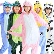 2017 Nouveau Licorne Unisexe Flanelle À Capuche Pyjamas enfants Cosplay de Bande Dessinée Mignon Onesies Animaux de Nuit Hoodies pour hauteur 150-190 cm