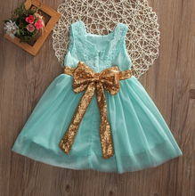 Baby Girl Dresses Party Cute Sleeveless