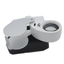 Xinxiang Magnifier Glasses 40X Hand illuminated Loupe with LED Folding