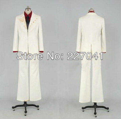 Umineko no Naku Koro ni Battler Halloween cosplay costume custom made Free Shipping A0190