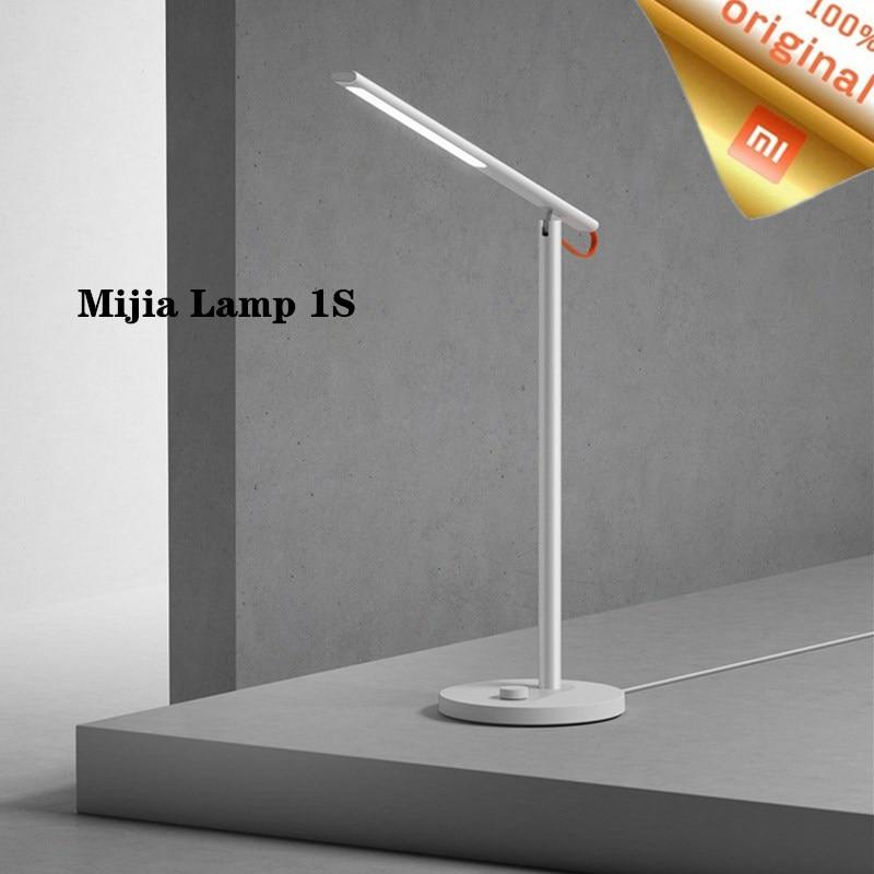Original Xiaomi Mijia Desk Lamp 1S 4 Lighting Modes Dimming Reading Light Smart Remote Control Table