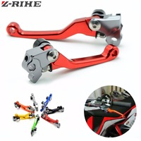 Motorcycl Pivot Brake Clutch Levers For HONDA 125 CRF2CRF250 450R X CR125 250R XR250 400 600