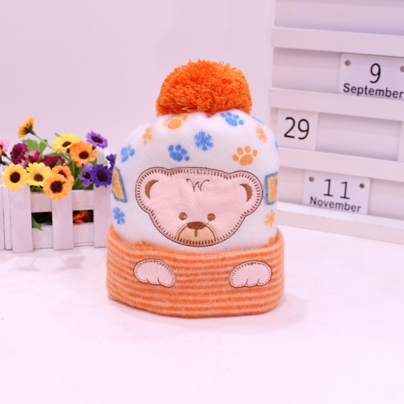 Baby Hat Kids Winter Hat Newborn Cap hot sale Super-soft Cashmere hat For Boys And Girls Baby clothing Free Shipping (1)