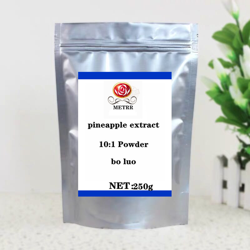 100g-1000g High Quality Pineapple Extract Powder 10:1 Bromelain, Anti-cancer, Skin Whitening, Pineapple Extract, Free Delivery