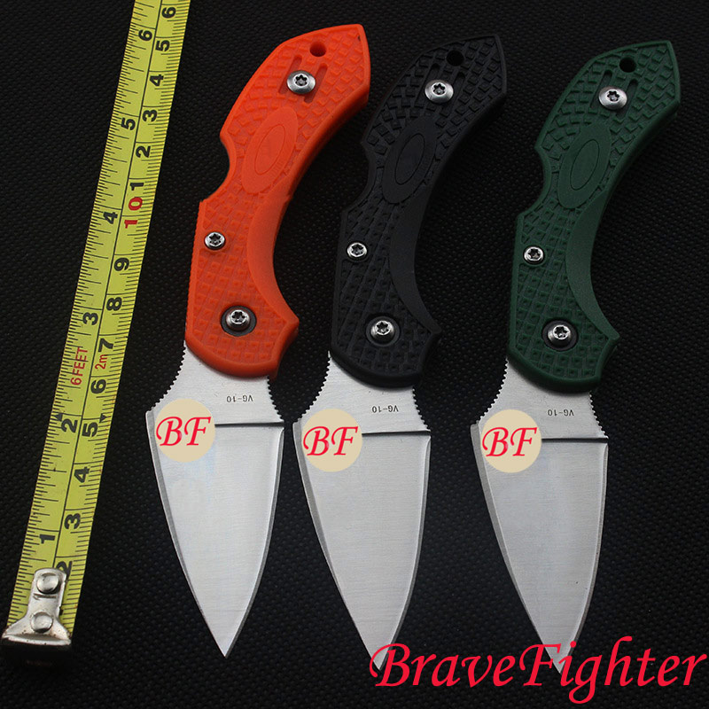BraveFighter C28GP 58HRC VG-10 blade G10 handle folding knife Outdoor camping tool Survival Tactical knife EDC Pocket knife outlife new style professional military tactical multifunction shovel outdoor camping survival folding spade tool equipment