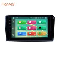 Harfey Android 8.0 Car Head Unit Radio Player GPS For 2005 2012 Mercedes Benz GL Class X164 GL300 GL350 GL420 GL450 GL500 GL550