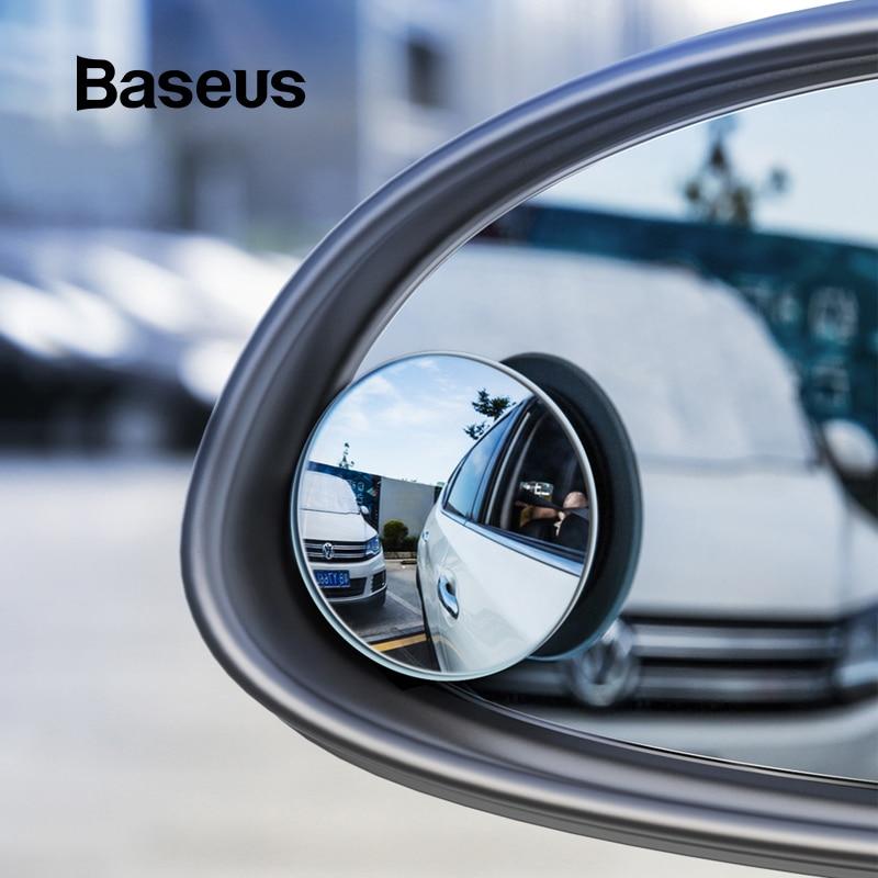 Baseus Car Holder 2Pcs Rear View Mirror Full-vision Adjustable Blind Spot Mirror For Car Backing Auto Round Glass Convex MirrorBaseus Car Holder 2Pcs Rear View Mirror Full-vision Adjustable Blind Spot Mirror For Car Backing Auto Round Glass Convex Mirror