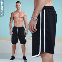 Aimpact Shorts Men Leisure Sportsuit Shorts 2018 Summer Spring Fashion Casual Trunks Jogger Loose Male Striped Short AM2004(China)