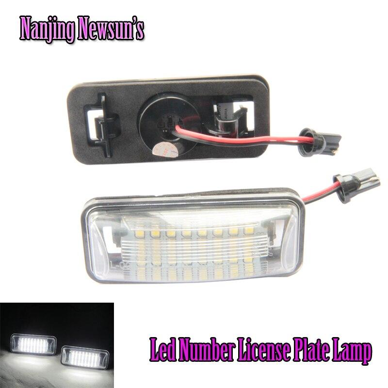 LED License Plate light licence frame number plate light replacement For BRZ Impreza WRX Legacy Crosstrek