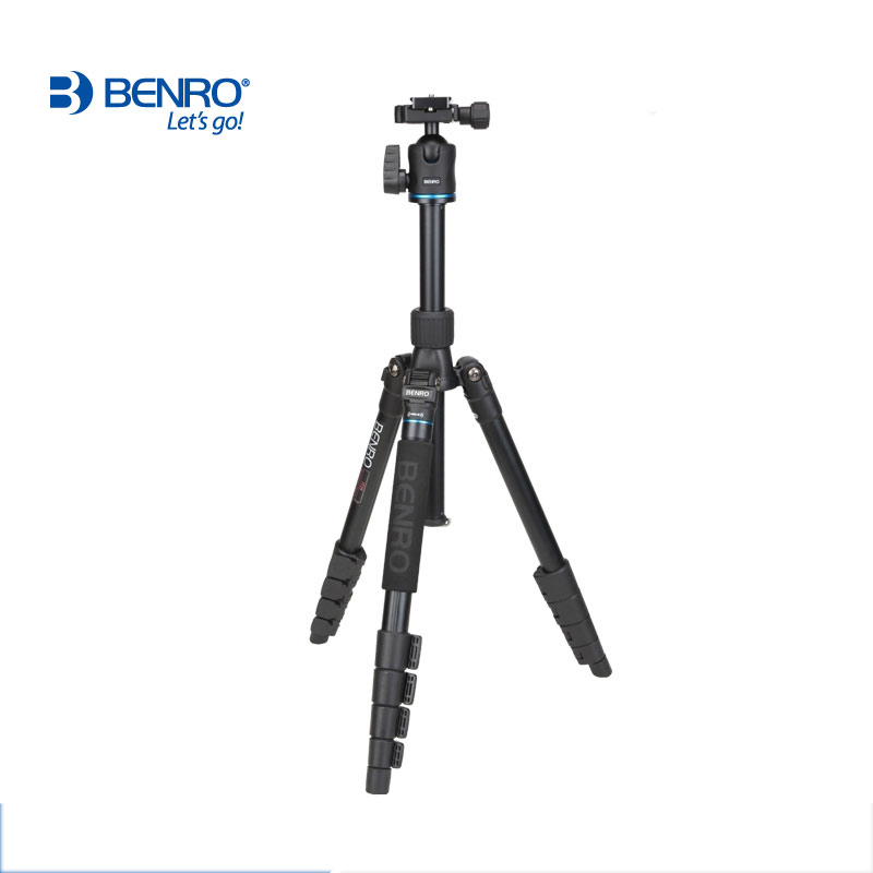 Image 4 - DHL Free Shipping BENRO IT25 Portable Camera Tripod Reflexed Removerble Traveling Monopod Carrying Bag Max Loading 6kg-in Tripods from Consumer Electronics
