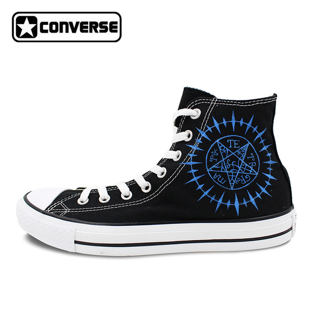 All Star Converse Mens Womens Shoes Anime Black Butler Contract