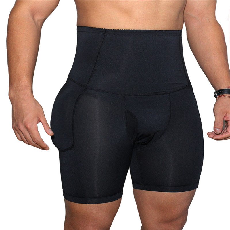 Sexy Men underwear Hip-up Butt Lifter Men's Package Enhancing Padded Trunk Shorts Gay penis boxer Push up boxershorts (8)