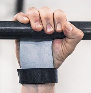 Prix pour Livraison gratuite Nouveau en cuir haltérophilie gymnastique soins palm palm tapis avec bandages de poignet Gants de Remise En Forme Sport