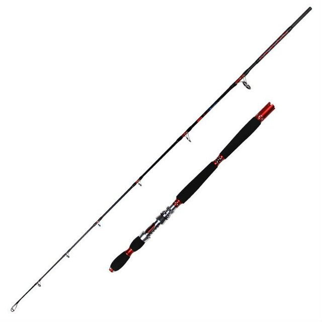 180cm Carbon Booster Jigging Fishing Rod