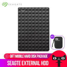 "Seagate Expansion USB 3.0 HDD 2.5"" 1TB 2TB 4TB Portable External Hard Drive Disk for Desktop Laptop(China)"