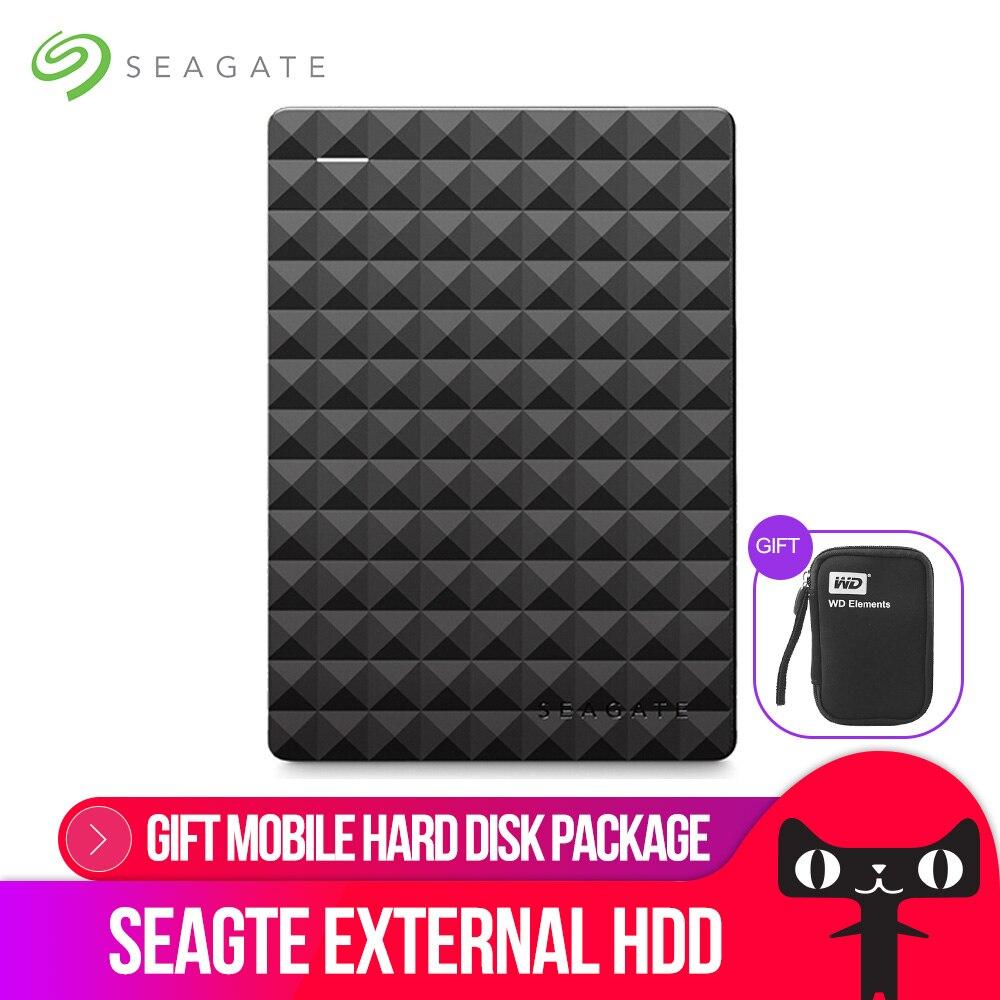 Seagate Expansion USB 3.0 HDD 2.5 1 TB 2 TB 4 TO Externe Portable Disque Dur Disque pour ordinateur De Bureau ordinateur portable