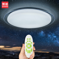 Modern LED ceiling Lights Dimmable Remote Control 25W 400mm 60W 550mm Lighting Fixture Living Room Kitchen Bedroom Ceiling Lamps