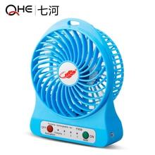 Free shipping Mini rechargeable fan dormitory USB small fan fan hand portable wind mute Fans