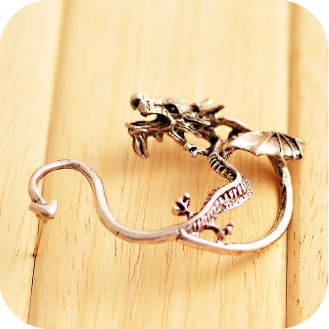Game of Thrones Targaryen Dragon Earrings
