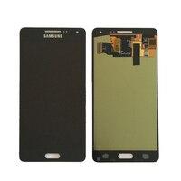 100% test Süper Samsung Galaxy A5 2015 A500 A500F A500M Için Amoled LCD Ekran + Dokunmatik Ekran Digitizer Meclisi