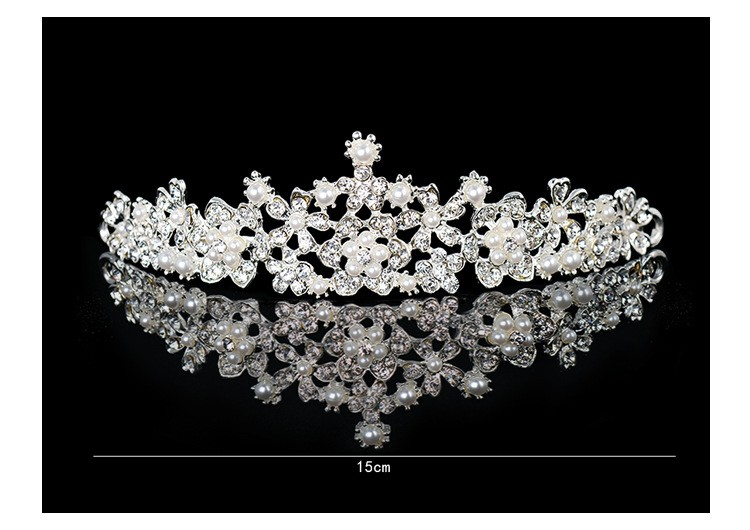 HTB14fc5LXXXXXXHXXXXq6xXFXXXh Magnificent Bridal Prom Pageant Crystal Inlaid Queen Tiara Crown - 2 Styles