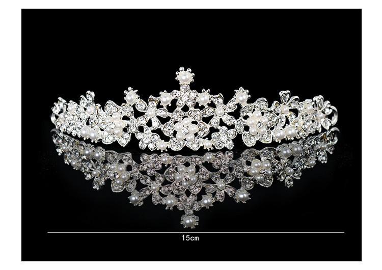 HTB14fc5LXXXXXXHXXXXq6xXFXXXh Magnificent Bridal Prom Pageant Crystal Inlaid Queen Tiara Crown - 2 Styles