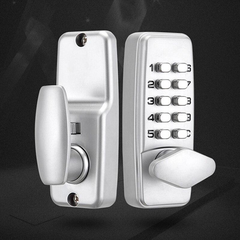 Digital Password Door Lock Keyless Entry Exterior Combination Digital Code Lock Door Hardware Tools