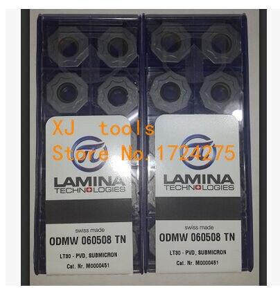 Freies Verschiffen 10 Stücke ODMW060508 TN LT30 hartmetalleinsatz schneidwerkzeuge drehen, wendeschneidplatten drehwerkzeug