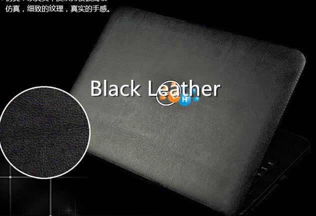 Специальные кожаные виниловые наклейки из углеродного волокна для ASUS G53 G53SW G53SX 15,6 дюйма - Цвет: Black leather