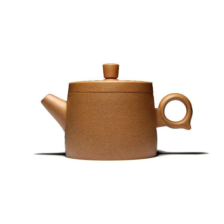 Célèbre famille fait à la main qualité brut Mine pente boue Hanwa anneau violet sable Pot Kungfu Teaware Set cadeau personnalisation