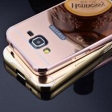 G3606 Case Алюминий Металл Зеркало Покрытие Hard Задняя Крышка для Samsung Galaxy Core Prime LTE SM-G3606 G360 G3609