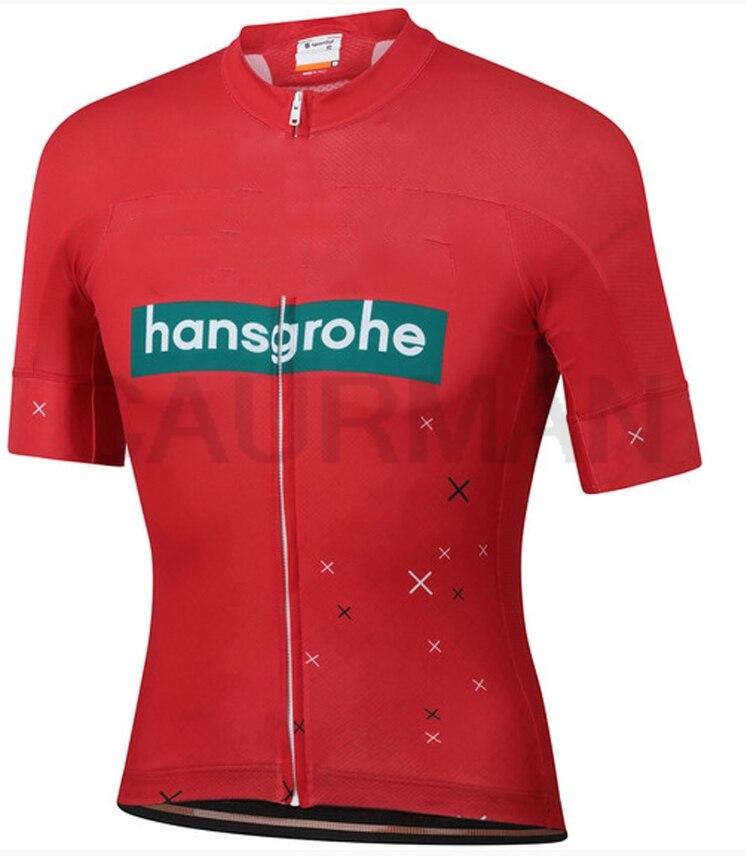 woman Hansgrohe Cycling Jersey Cycling Clothing Racing Sport Bike Jersey Tops Cycling Wear Short Sleeves Maillot ropa Ciclismo(China)