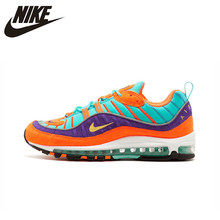 9a8fb6f808 Original Authentic Nike Air Max 98 QS CONE Men's Running Shoes Sport  Outdoor Breathable Sneakers 2018