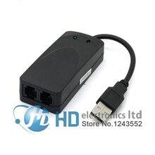 USB 56K External Dial Up Fax Data V.90 V.92 Modem Window 7 XP Vista Win 8