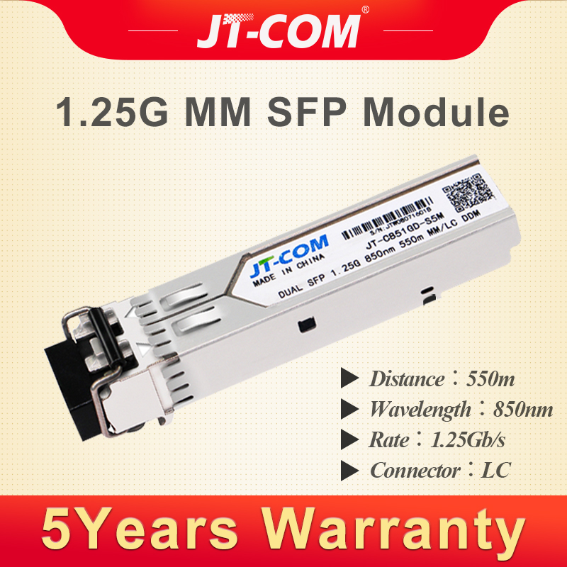 6COM 155M 1310nm 2KM LC connector SFP Transceiver compatible cisco item number is SFP-OC3-MM
