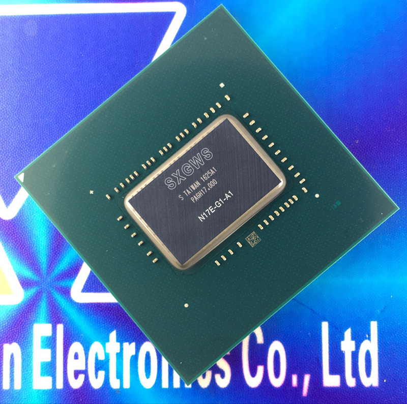 1 PCS 100 test very good N17E G1 A1 N17E G1 A1 BGA Chipset With Balls
