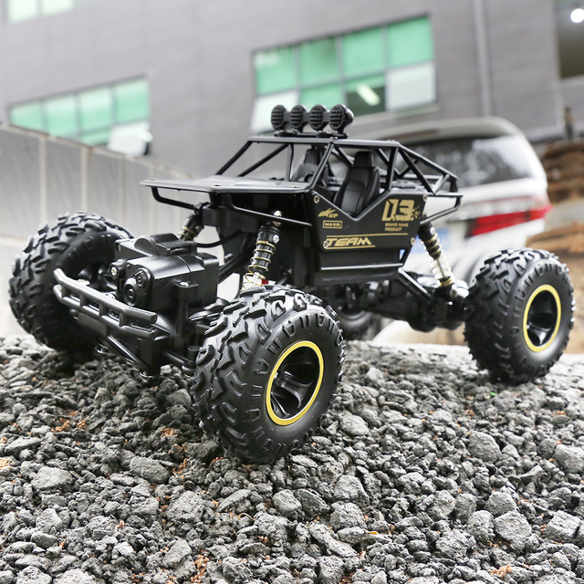 1 16 RC Car 4WD climbing Car Rock Crawler 4x4 Double Motors Drive Bigfoot Car Remote