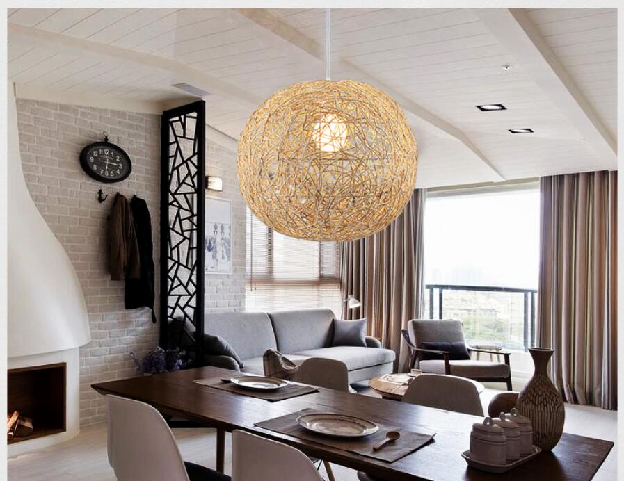 30cm Kitchen Pendant Light Island Ceiling Lamp Wood zb55