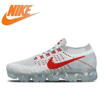 f5bbd4a3b73 Original auténtico Nike aire VaporMax Flyknit hombre zapatos para correr al  aire libre zapatillas de deporte clásico transpirable deportes zapatos de  malla ...