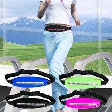 Sports Running Waist bags Pack Pocket Belt with LED Lights Adjustable Safety Waist Bag In Stock