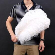 15-75 см 6-30 дюймов все размеры 10 шт белые страусиные перья для рукоделия карнавал вечеринка Хэллоуин свадебные украшения ювелирные изделия