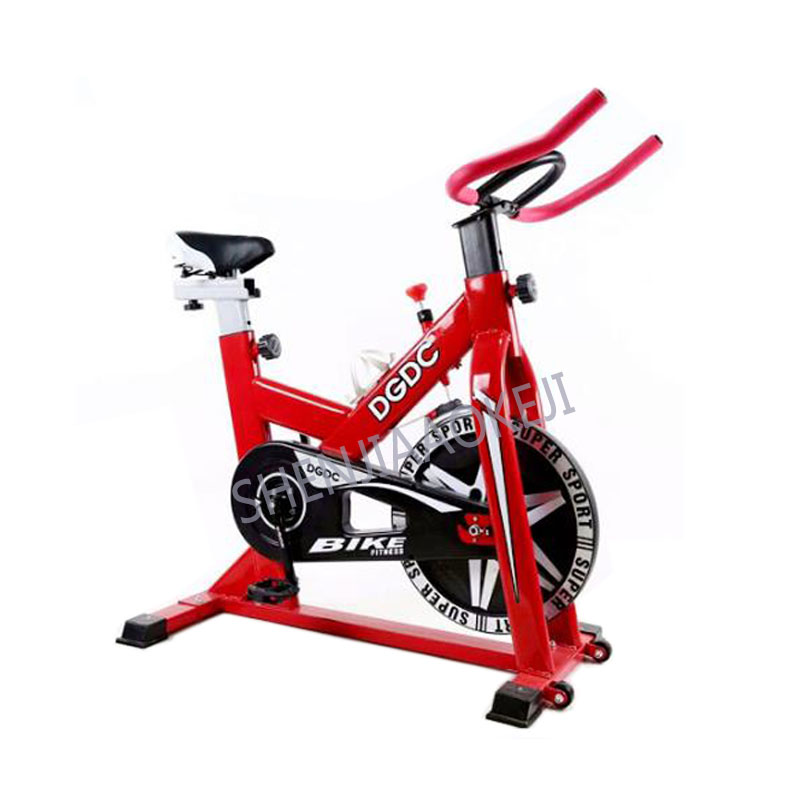 Home spinning bike Ultra-quiet exercise bike Indoor exercise bike Bicycle fitness equipment screw shift adjustment 1pc healthy soho office spinning bicycle super mute household magnetic bike with table back pedal fitness equipment dynamic bike