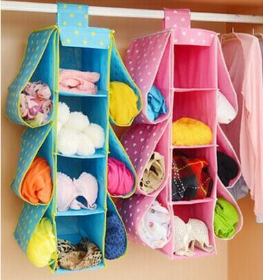 Folding 10 Pockets Over Door Hanging Storage Bag Living Room Storage Bag Storage Box Space