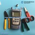 5PCS RUBICON RCZ-527 Kevlar scissors+FTTH Outdoor cable strippers+CFS-2 Fiber stripping pliers+SG86AR70Fiber optical power meter