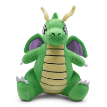 Green Sitting Dragonite Plush Toy Wings Flying Soft Doll Gift